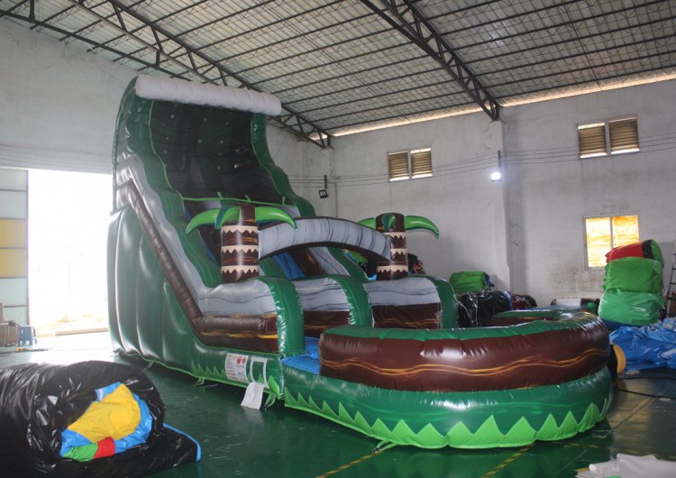 18FT Tropical Adventure Slide (Wet)
